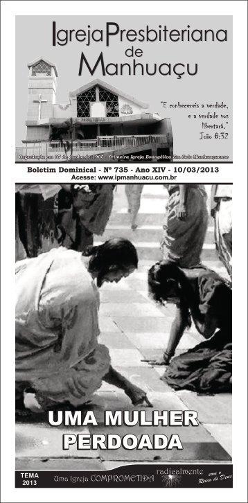 Download do Boletim em PDF - Igreja Presbiteriana de Manhuaçu