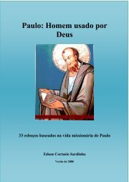 Discipulado em Paulo - Igreja Metodista de Vila Isabel