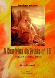 A Doutrina de Cristo Nº. 16 - Webnode
