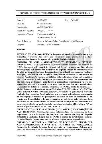 Microsoft Word - 18921081\252.doc - Secretaria de Estado de ...