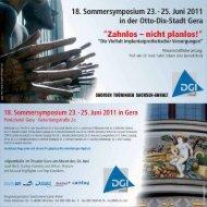 Flyer zum Download - Zahnarzt-Praxis Gera