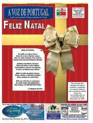 Em virtude dos feriados da época natalícia ... - A Voz de Portugal