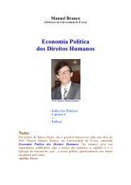 Economia Política dos Direitos Humanos - Adelino Torres