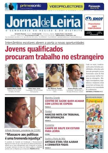 Jovens qualificados procuram trabalho no ... - Jornal de Leiria