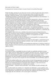 Intervenção Fátima Campos - Cidade Viva