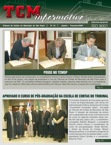 Jan/Fev - Tribunal de Contas do Município de São Paulo