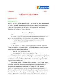 Tema 8 - Literatura Brasileira III