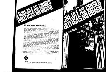 paulo josé krischke - Centro de Estudos de Cultura Contemporânea