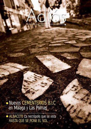 Nuevos CEMENTERIOS BIC en Málaga y Las Palmas - Revista Adiós