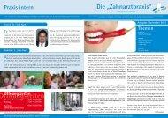 Öffnungszeiten - Zahnärzte Zentrum Ladeholz