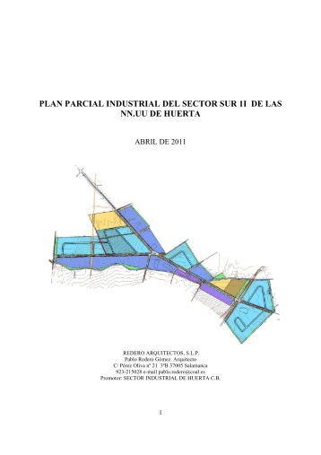 plan parcial industrial del sector sur 1i de las nn.uu de huerta