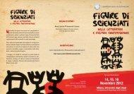 14, 15, 16 Novembre 2012 - Studi umanistici Unimi - Università degli ...