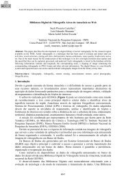 Biblioteca Digital de Videografia Aérea da Amazônia na Web ... - Inpe