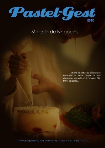 relatório do website Pastelaria - Jorge Teixeira