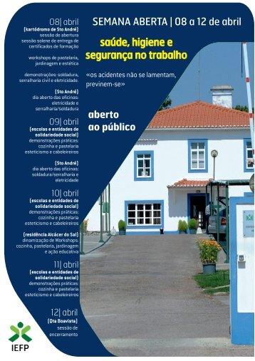 Folheto Santiago do Cacém