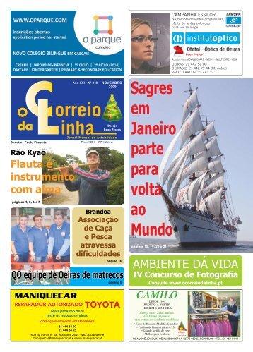 Novembro - Jornal o Correio da Linha