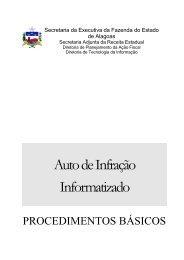 PROCEDIMENTOS BÁSICOS - Sefaz - AL