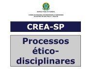 Resoluções 1002 e 1004 - Crea-SP