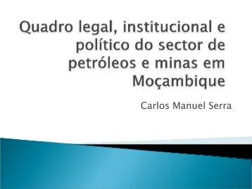 Carlos Manuel Serra - IESE