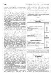 Curso nível III, Portaria nº 1287/2006 de 21 de Novembro