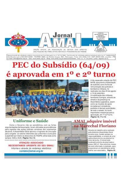 jornal junho – julho – agosto de 2010 - AMAI