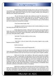 Machado de Assis – Contos – A Cartomante