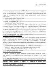 Acta n.º 23 - Câmara Municipal de Torres Vedras