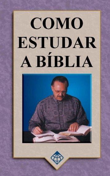 Como Estudar a Bíblia - GlobalReach.org