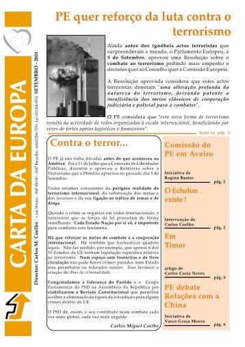 Setembro - Carlos Coelho