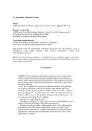 A Cartomante, Machado de Assis Fonte: ASSIS ... - Universia Livros