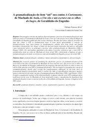 """A gramaticalização do item """"até"""" nos contos A Cartomante ... - Uesc"""