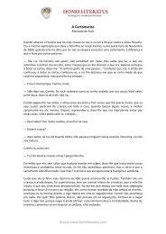 Conto A Cartomante – Machado de Assis - Homo Literatus