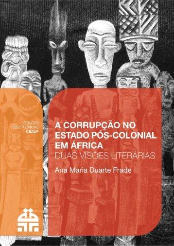Introdução - Centro de Estudos Africanos da Universidade do Porto