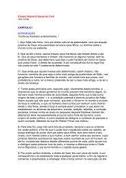 Ensaio Sobre O Governo Civil CAPÍTULO I INTRODUÇÃO ... - DHnet