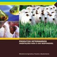 PRODUTOS VETERINÁRIOS - Ministério da Agricultura, Pecuária e ...