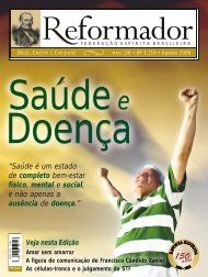 reformador Agosto 2008 - a.qxp - Federação Espírita Brasileira