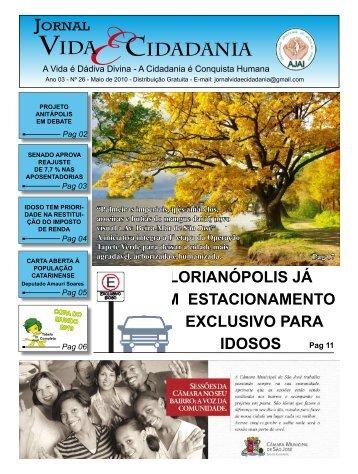 Edição do Mês de Maio 2010 - Jornal Vida & Cidadania