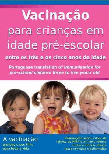 Vacinação Vacinação - Health Promotion Agency