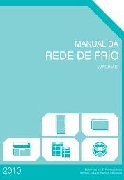 Manual da Rede de Frio (Vacinas) - Adm. Regional de Saude de ...