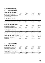 8 Unterdachbahnen - Tilag AG