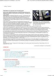 Zahnbürste aus Karton als Forschungsziel - Freie Presse - Zahoransky