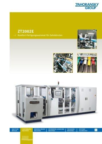 ZT2002E - Zahoransky