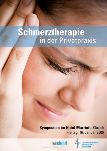 Schmerztherapie in der Privatpraxis - Zantomed