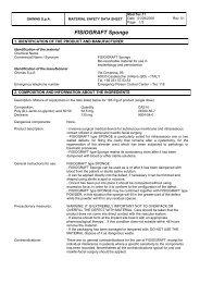 MSDS Fisiograft Sponge - Zantomed