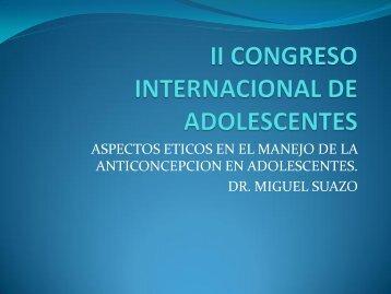 II CONGRESO INTERNACIONAL DE ADOLESCENTES - codajic
