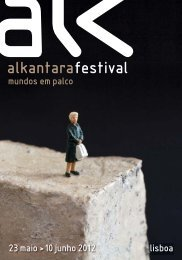 Programa Alkantara Festival 2012 - Program