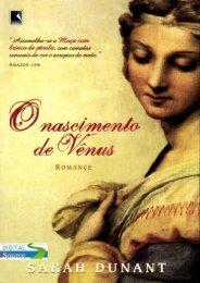 Sarah Dunant – O Nascimento de Vênus (pdf)(rev