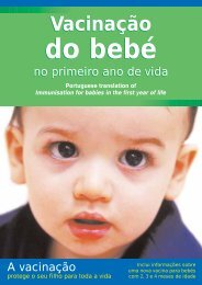 do bebé do bebé - Health Promotion Agency