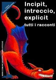 Incipit, intreccio, explicit - primo corso - Comune di Modena