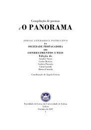 Compilação de poemas d' O Panorama, Jornal Literário